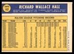 1970 Topps #182  Dick Hall  Back Thumbnail