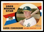 2009 Topps Heritage #147  Aaron Cunningham  Front Thumbnail