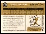 2009 Topps Heritage #141  Wade LeBlanc  Back Thumbnail