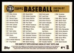 2009 Topps Heritage #183   Pirates Team Checklist Back Thumbnail