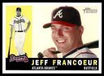 2009 Topps Heritage #37  Jeff Francoeur  Front Thumbnail