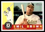 2009 Topps Heritage #116  Emil Brown  Front Thumbnail