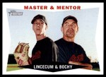 2009 Topps Heritage #7  Tim Lincecum / Bruce Bochy  Front Thumbnail