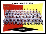 2009 Topps Heritage #18   Dodgers Team Checklist Front Thumbnail