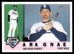 2009 Topps Heritage #102  Adrian Gonzalez  Front Thumbnail