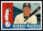 2009 Topps Heritage #247  Hideki Matsui  Front Thumbnail