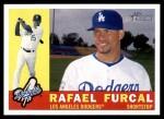 2009 Topps Heritage #344  Rafael Furcal  Front Thumbnail