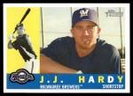 2009 Topps Heritage #378  J.J. Hardy  Front Thumbnail