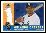 2009 Topps Heritage #240  Orlando Cabrera  Front Thumbnail
