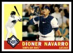 2009 Topps Heritage #263  Dioner Navarro  Front Thumbnail