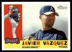 2009 Topps Heritage #350  Javier Vazquez  Front Thumbnail