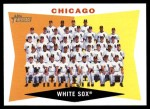 2009 Topps Heritage #208   White Sox Team Checklist Front Thumbnail