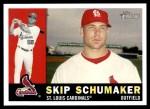 2009 Topps Heritage #275  Skip Schumaker  Front Thumbnail