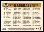 2009 Topps Heritage #242   Cardinals Team Checklist Back Thumbnail