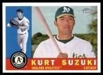 2009 Topps Heritage #409  Kurt Suzuki  Front Thumbnail