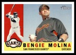 2009 Topps Heritage #421  Bengie Molina  Front Thumbnail