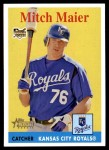 2007 Topps Heritage #39  Mitch Maier  Front Thumbnail