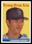 2007 Topps Heritage #132  Byung-Hyun Kim  Front Thumbnail