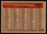 2007 Topps Heritage #44   Washington Nationals Team Back Thumbnail