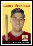 2007 Topps Heritage #323  Lance Berkman  Front Thumbnail