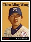 2007 Topps Heritage #455  Chien-Ming Wang  Front Thumbnail