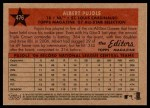 2007 Topps Heritage #476   -  Albert Pujols All-Star Back Thumbnail
