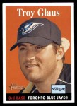 2007 Topps Heritage #422  Troy Glaus  Front Thumbnail