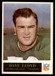 1965 Philadelphia #134  Dave Lloyd   Front Thumbnail
