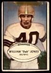 1953 Bowman #46  William Jones  Front Thumbnail