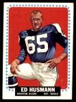 1964 Topps #76  Ed Husmann  Front Thumbnail