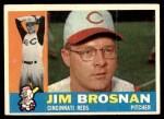 1960 Topps #449  Jim Brosnan  Front Thumbnail