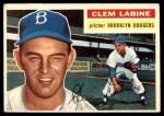 1956 Topps #295  Clem Labine  Front Thumbnail