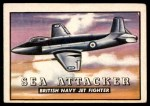 1952 Topps Wings #27   Sea Attacker Front Thumbnail
