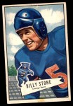 1952 Bowman Large #88  Billy Stone  Front Thumbnail