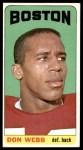 1965 Topps #21  Don Webb  Front Thumbnail
