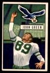 1951 Bowman #83  John Green  Front Thumbnail