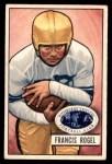 1951 Bowman #24  Fran Rogel  Front Thumbnail