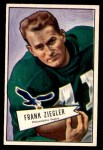 1952 Bowman Small #119  Frank Ziegler  Front Thumbnail