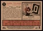 2011 Topps Heritage #75  Chris Tillman  Back Thumbnail