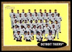 2011 Topps Heritage #24   Tigers Team Front Thumbnail