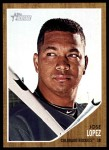 2011 Topps Heritage #327  Jose Lopez  Front Thumbnail
