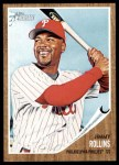 2011 Topps Heritage #284  Jimmy Rollins  Front Thumbnail