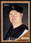 2011 Topps Heritage #290  Ty Wigginton  Front Thumbnail