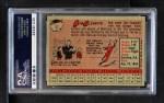 1958 Topps #52 YT Roberto Clemente   Back Thumbnail