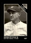 1991 Conlon #120   -  Herb Pennock 1927 Yankees Front Thumbnail