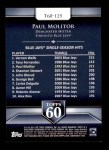 2011 Topps 60 #125 T-60 Paul Molitor  Back Thumbnail