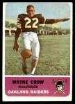 1962 Fleer #73  Wayne Crow  Front Thumbnail