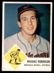 1963 Fleer #4  Brooks Robinson  Front Thumbnail