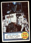 1970 Topps Man on the Moon #6 A  Lunar Test Run Front Thumbnail