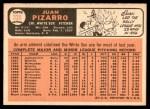 1966 Topps #335  Juan Pizarro  Back Thumbnail